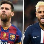 【足球转会】互换核心球员?巴黎坚持买梅西,巴萨反手给内马尔报价